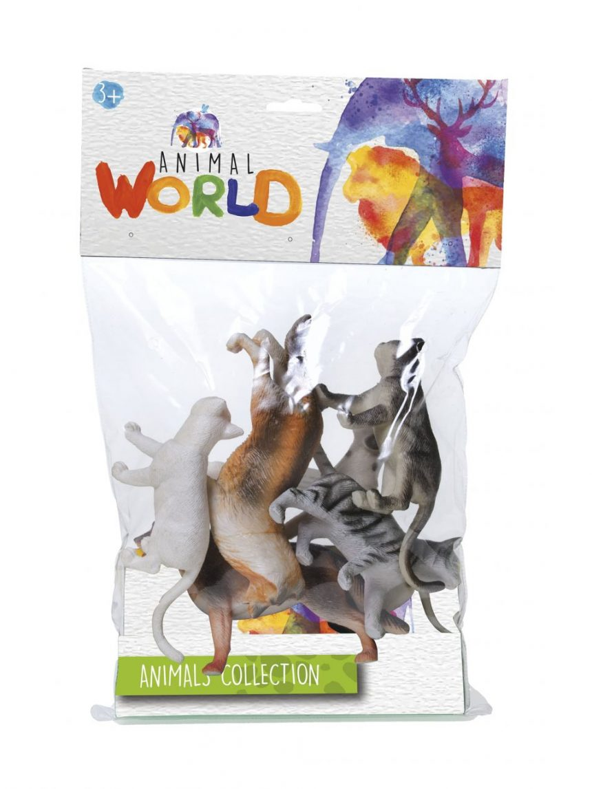 Mundo animal - conjunto animali - coleta de animais - Animal World