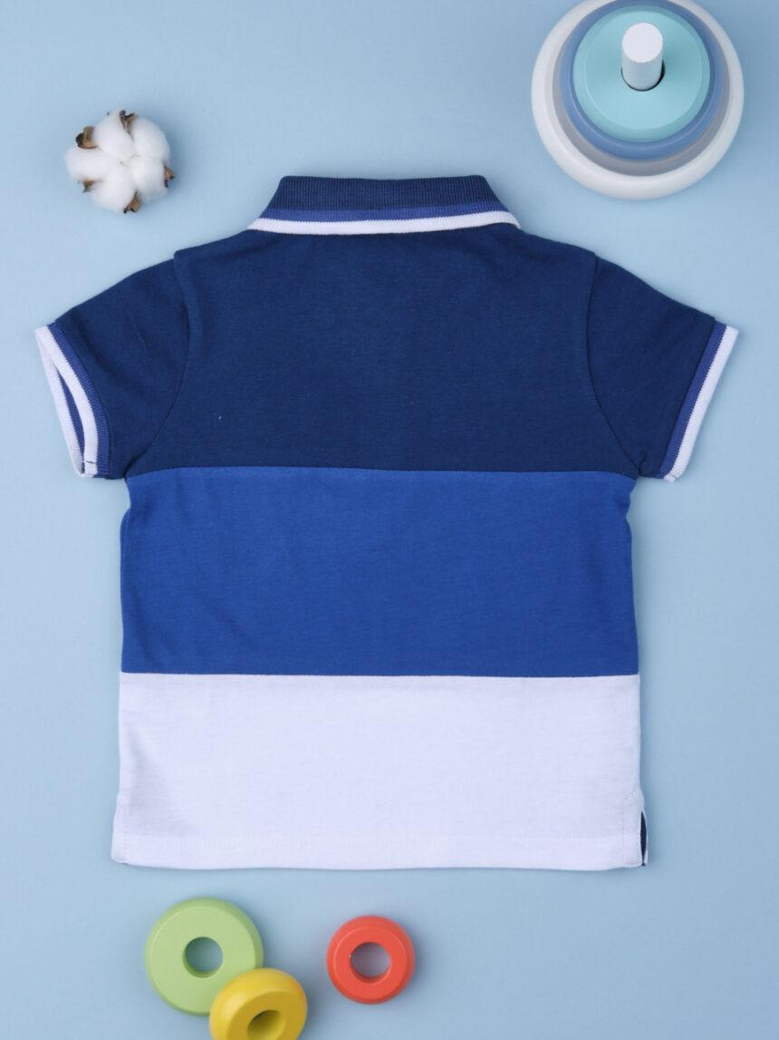 Polo boy multicolo blu - Prénatal