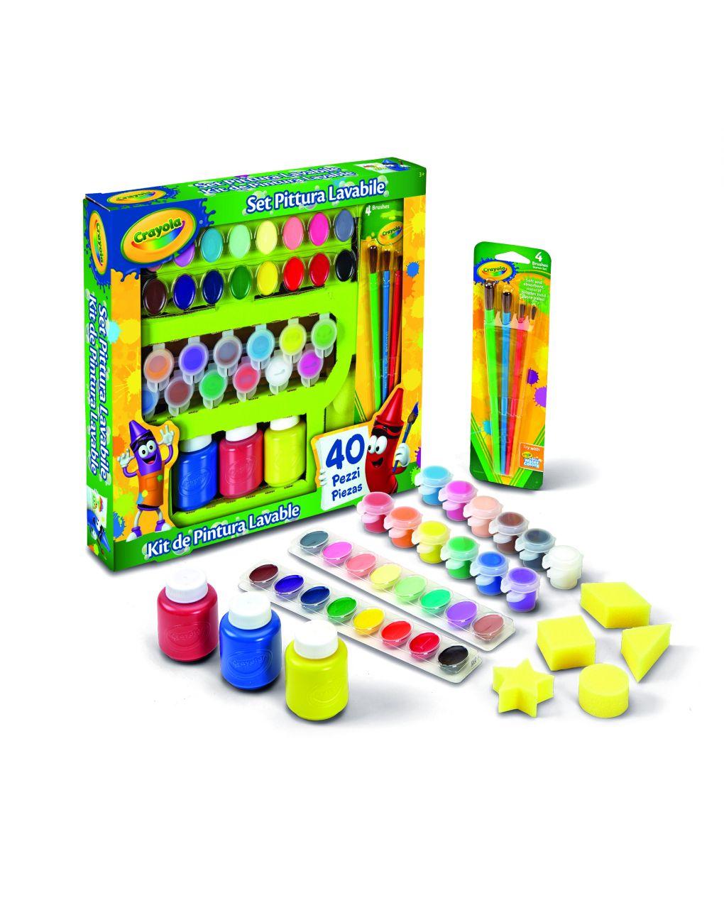 Crayola - conjunto de pintura - Crayola