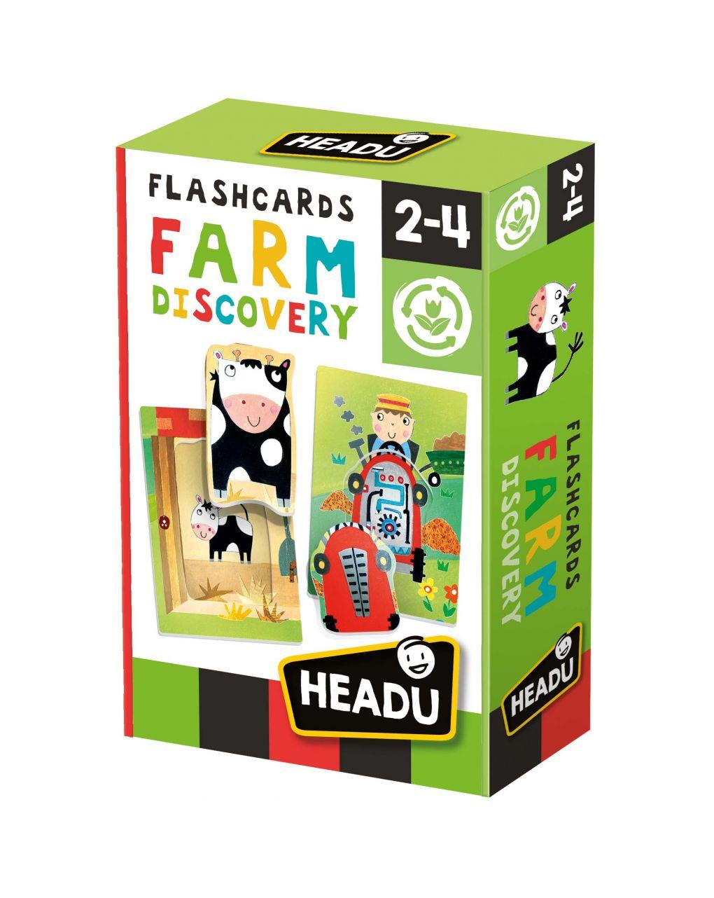 Headu - descoberta da fazenda de flashcards - Headu
