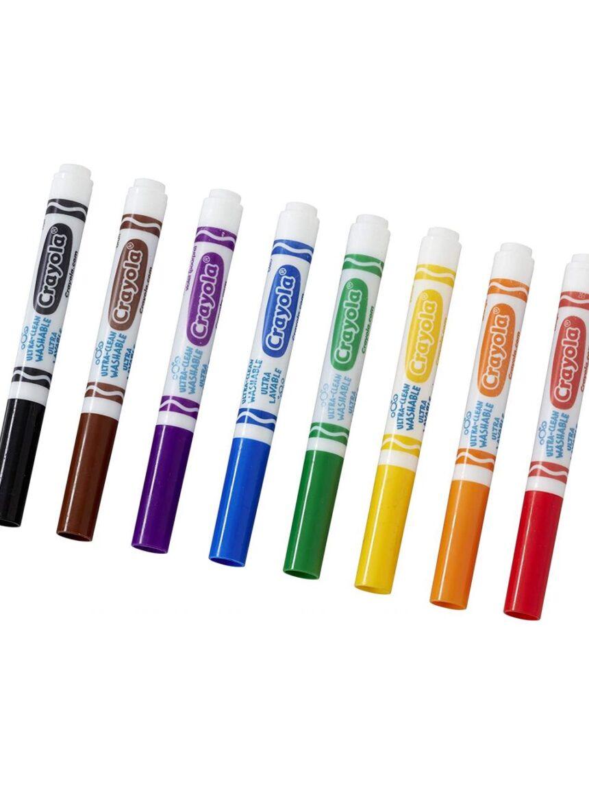 8 canetas ultra clean washable - Prénatal