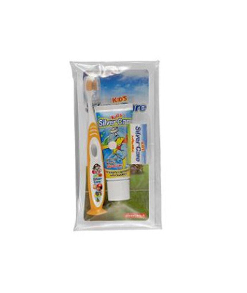Kit de escova infantil - escova de pasta de dente - Silver Care