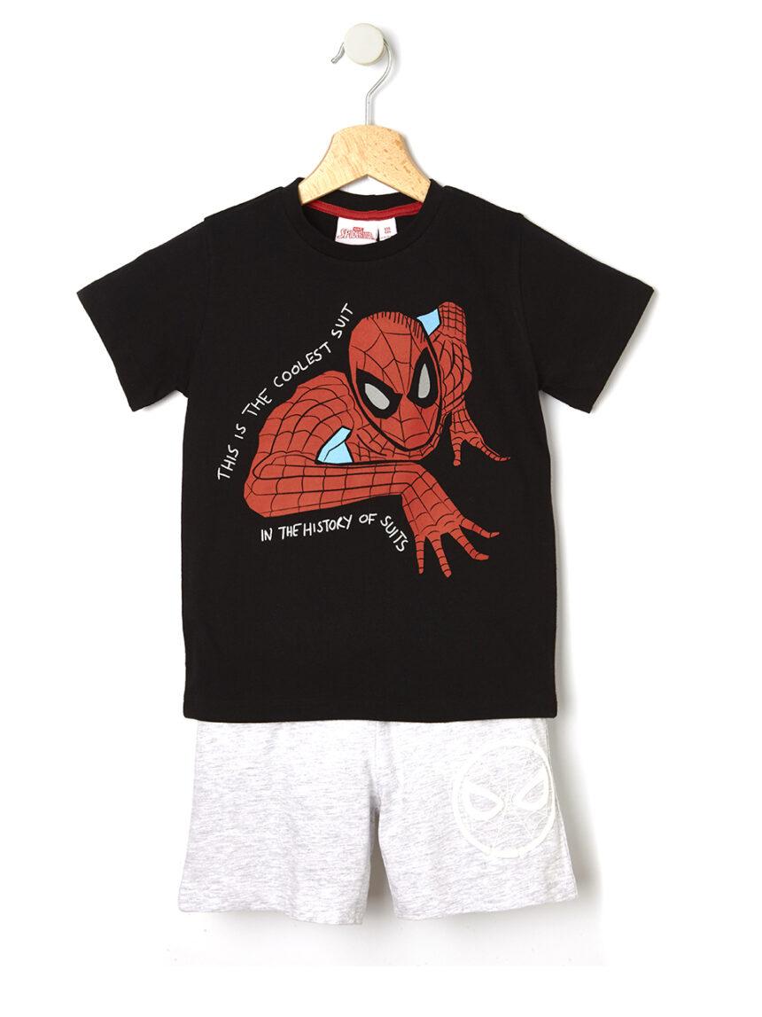 Pijama de 2 peças com estampa de homem-aranha - Prénatal