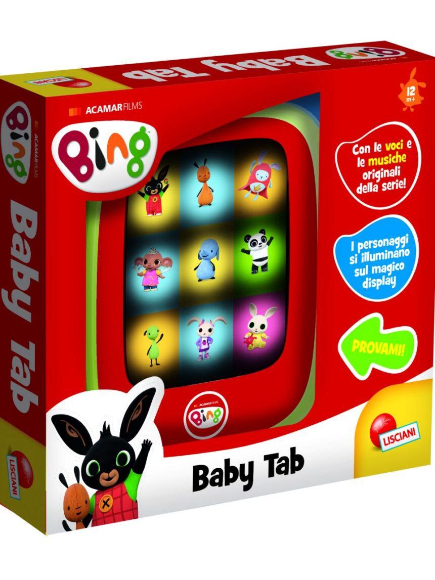Bing baby tab, brincar e aprender - Bing