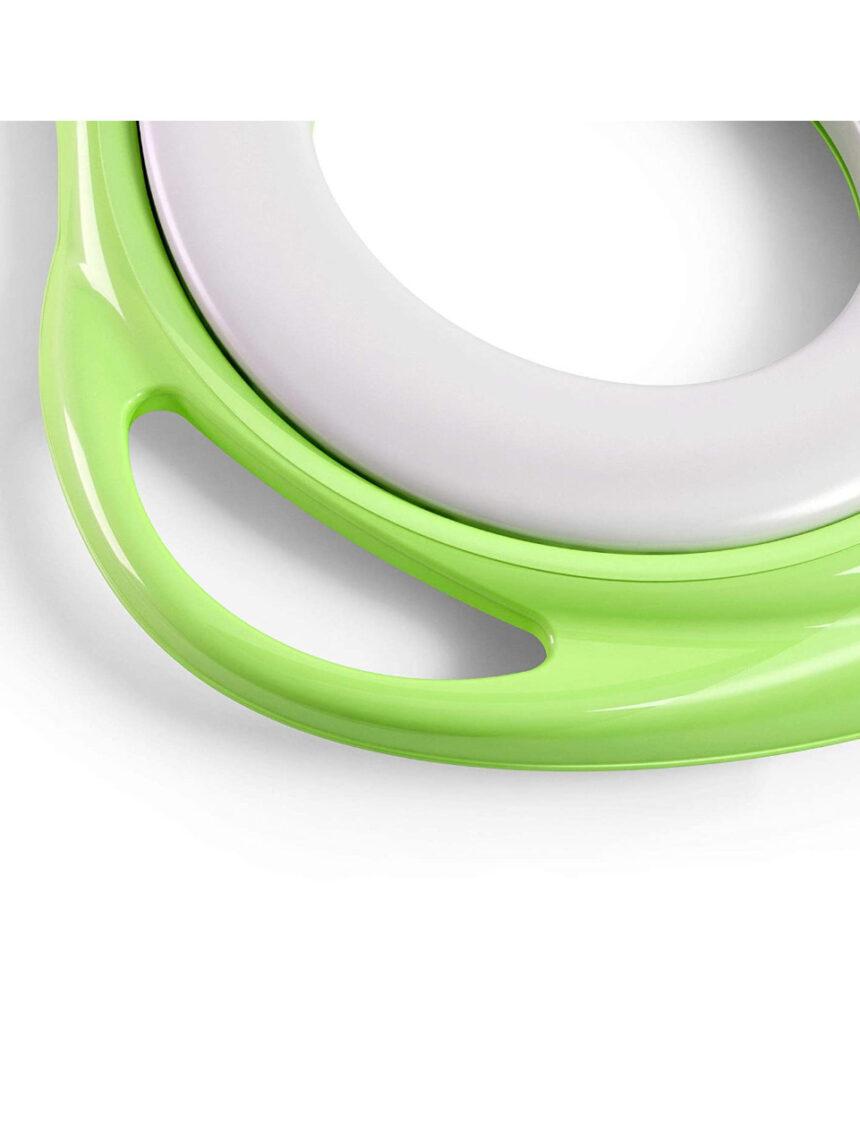 Redutor de assento de sanita verde macio - Okbaby