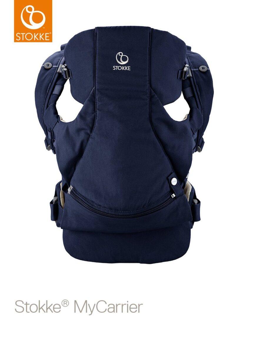 Suporte frontal e traseiro stokke® mycarrier ™ - azul profundo - Stokke