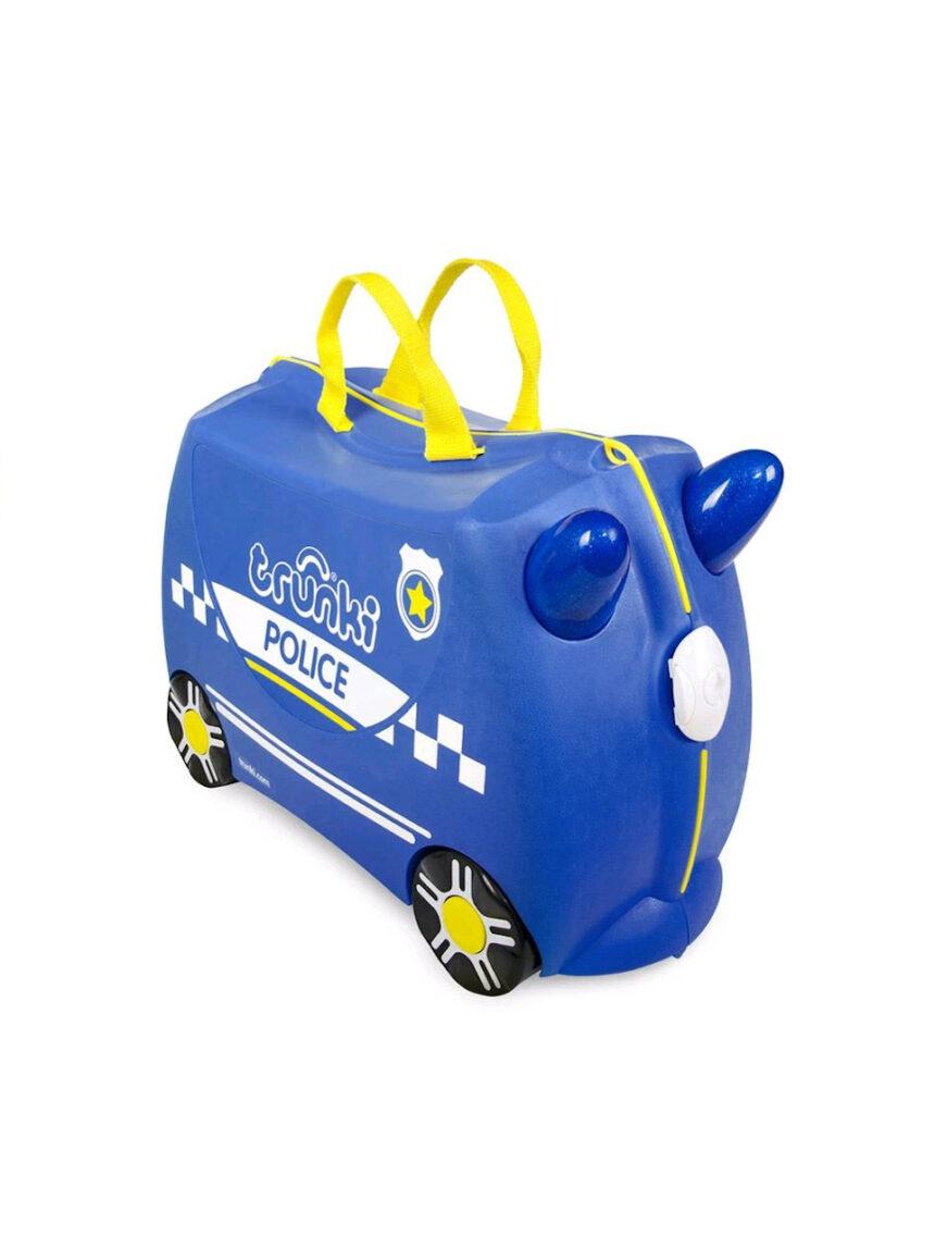 Polícia trunki com mala de viagem - Trunki