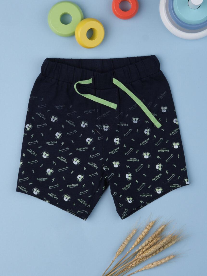 "Shorts menino ""tempo divertido"" - Prénatal"