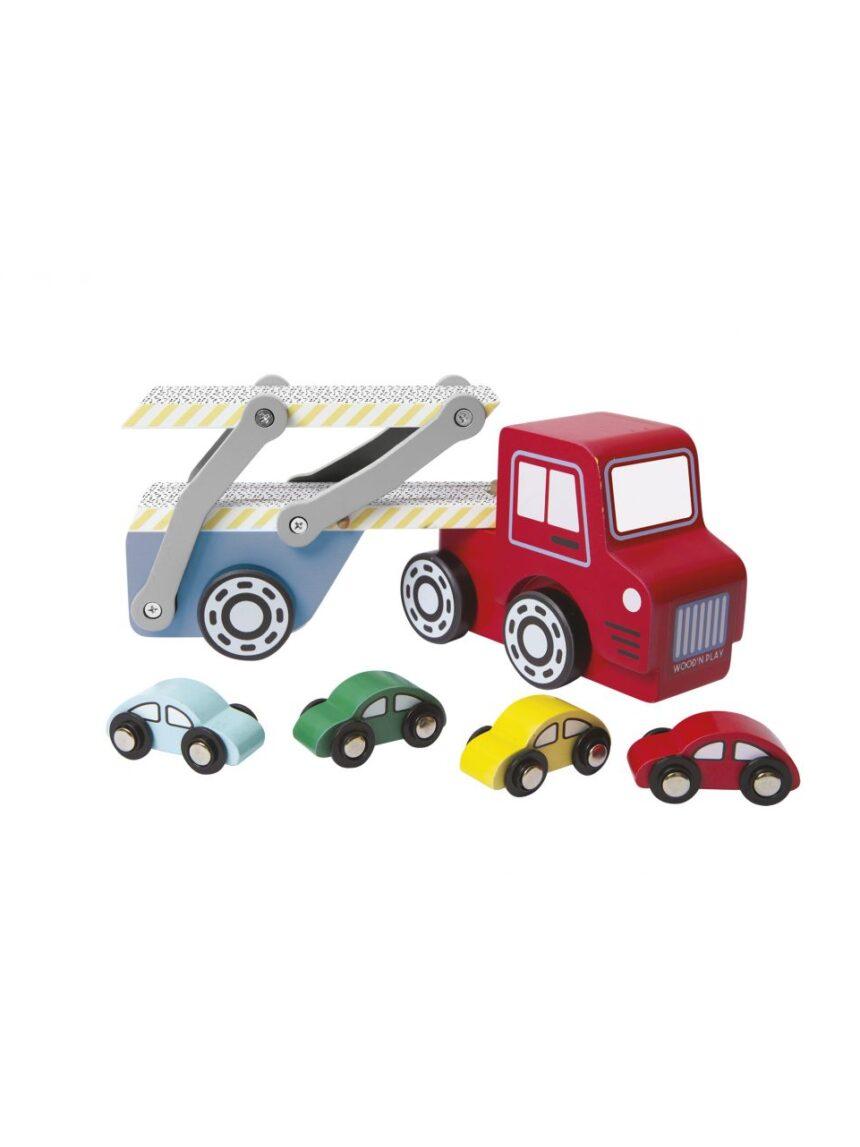 Wood'n play - transportador de carro - Wood'N'Play