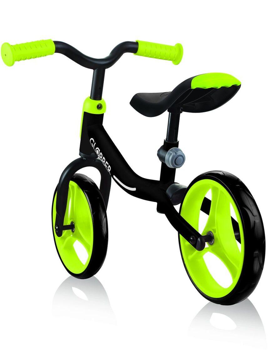 Globber - vá de bicicleta - preto / verde limão - Globber