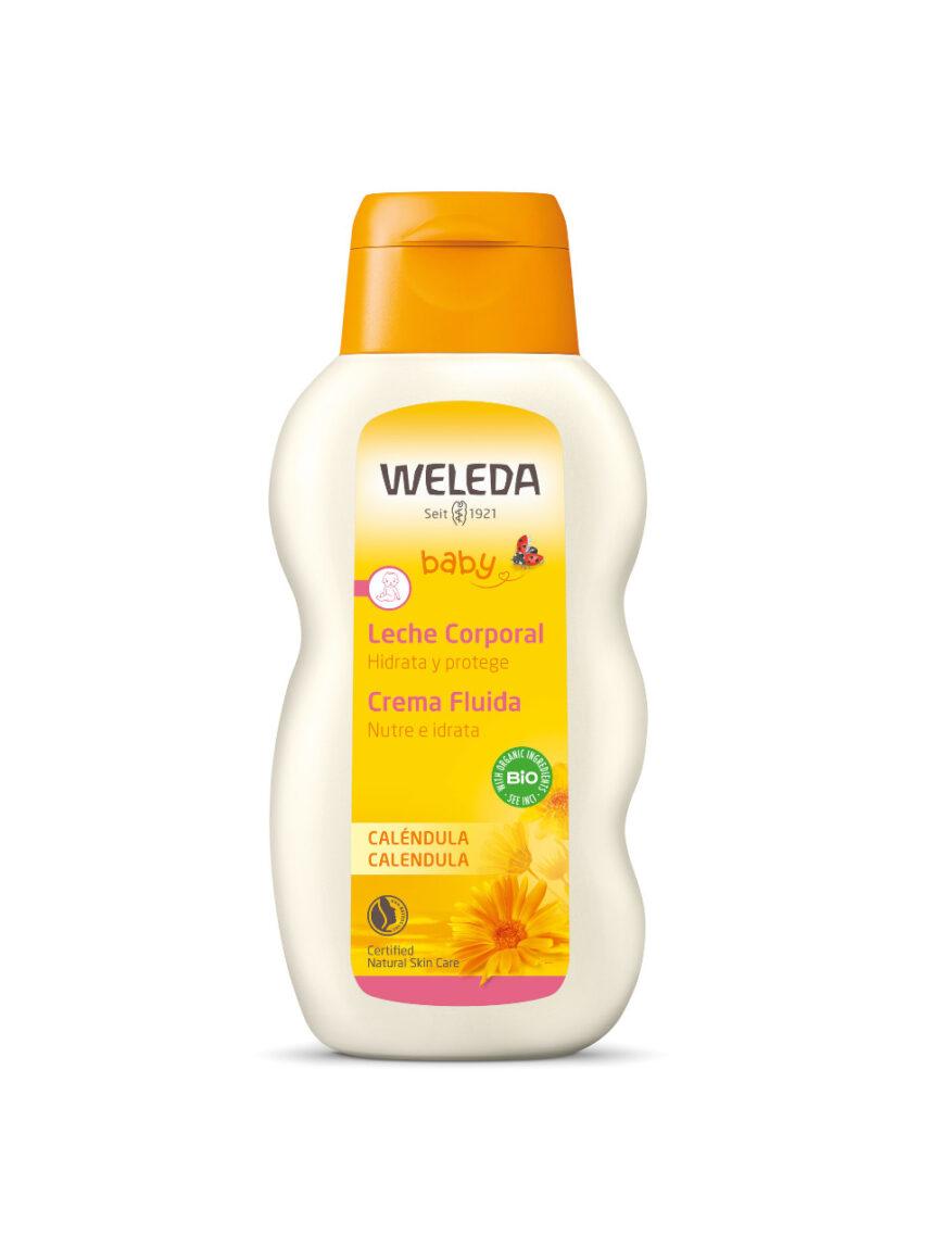 Creme fluido de calêndula para bebê 200 ml - Weleda