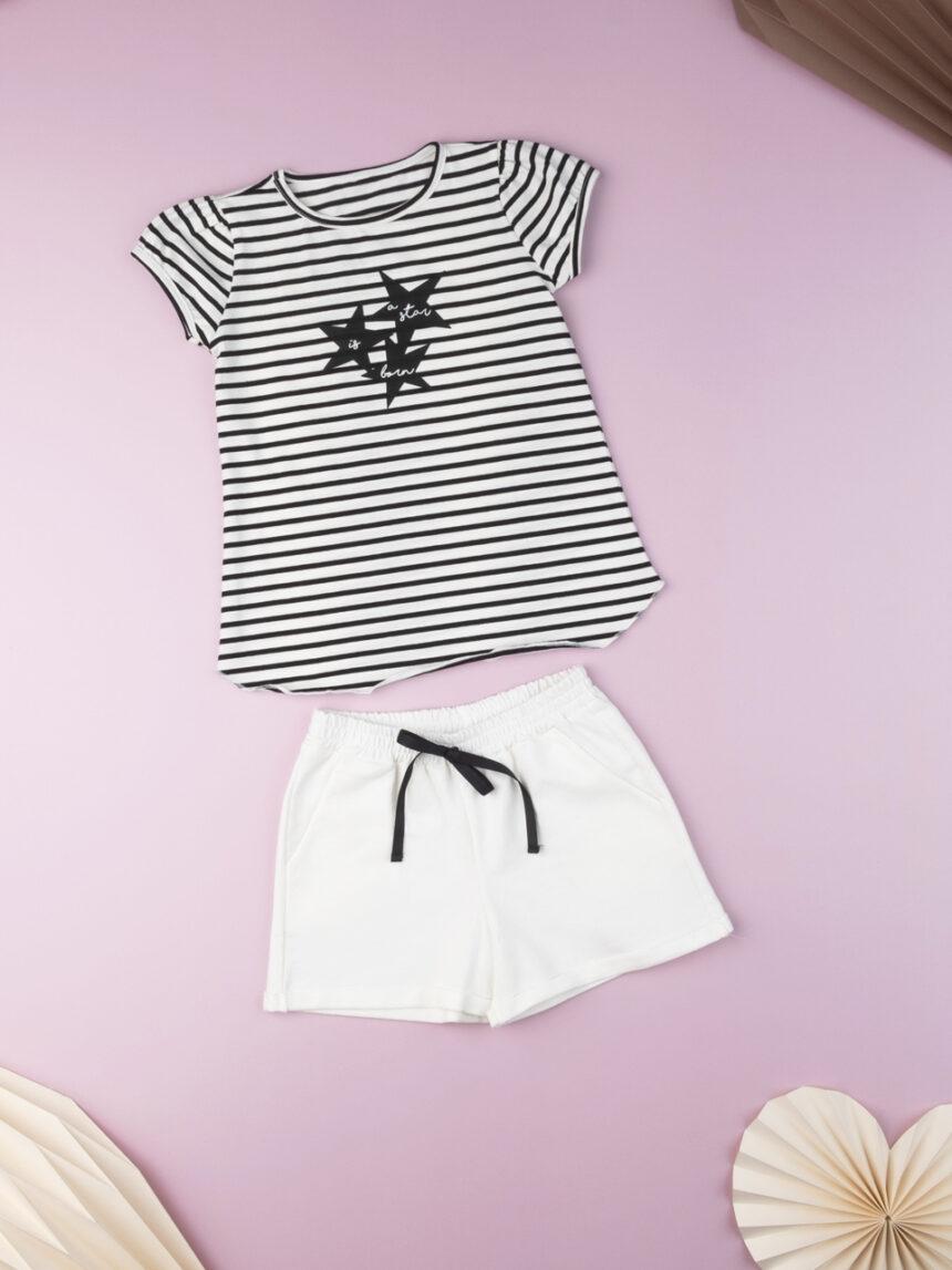 """T-shirt kid girl """"nasce uma estrela"""" - Prénatal"""