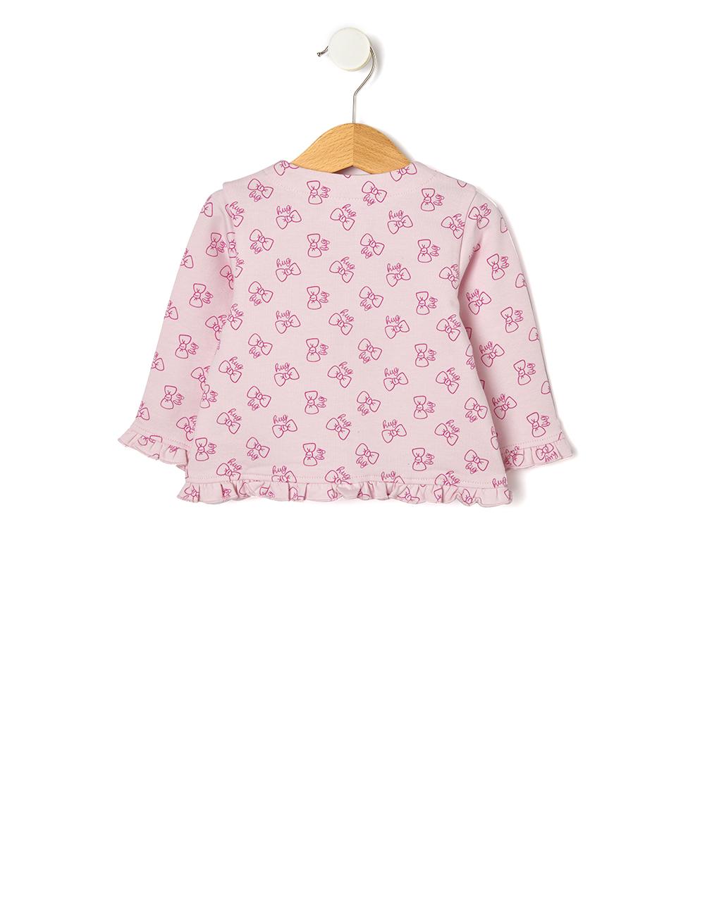 Casaco de lã com zíper - Prénatal