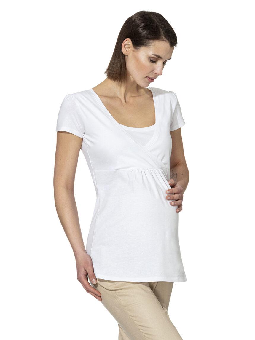 Camiseta de enfermagem de meia manga - Prénatal