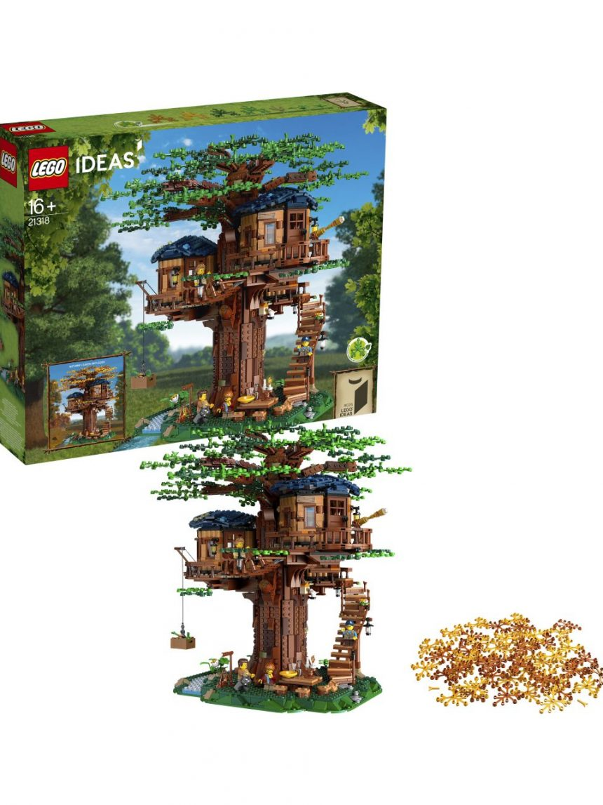 Ideias lego - casa na árvore - 21318 - LEGO