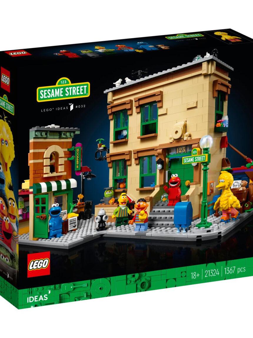 Ideias de lego - rua de gergelim 123 - 21324 - LEGO