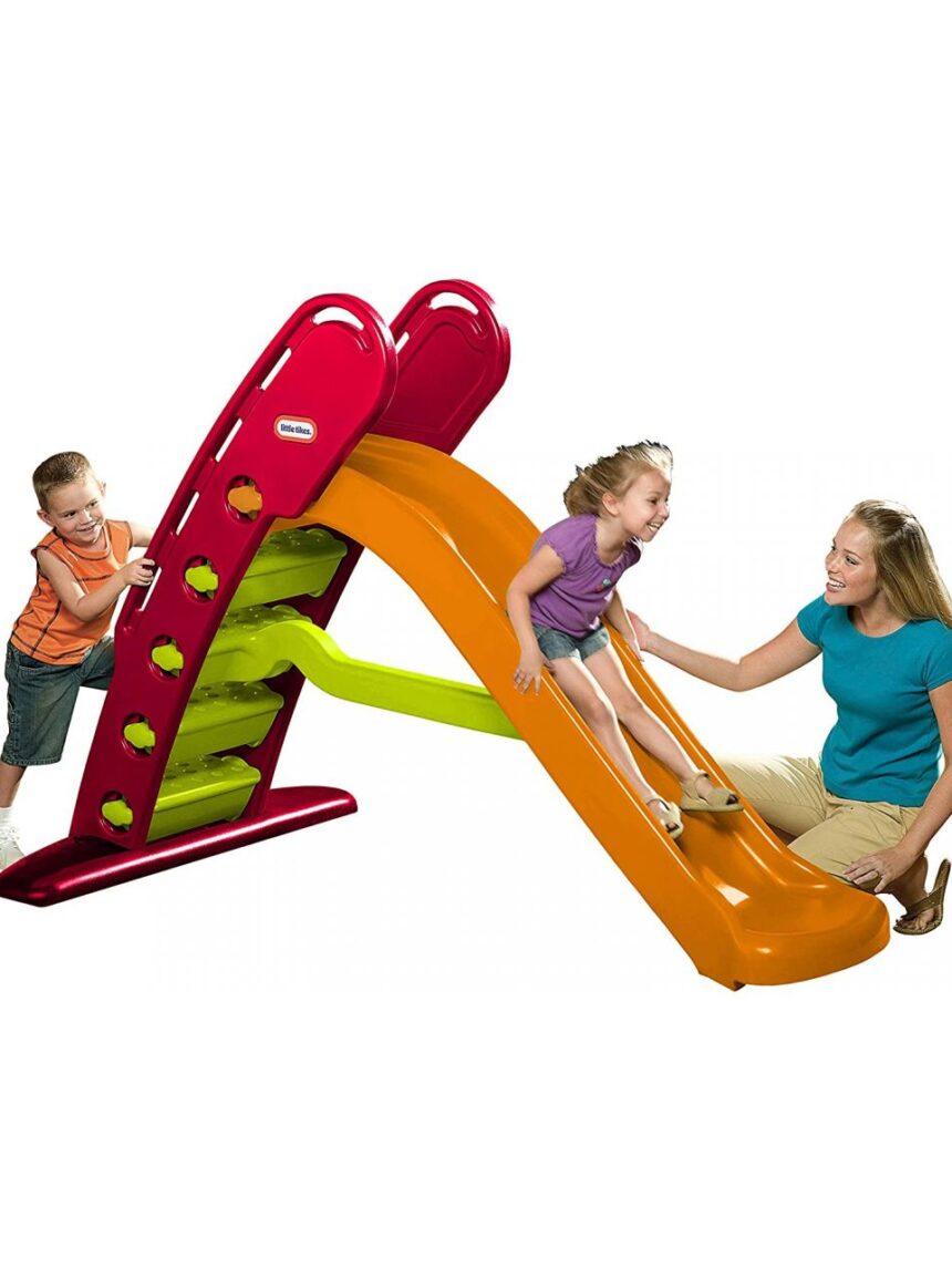 Little tikes - slide dobrável gigante - Little tikes