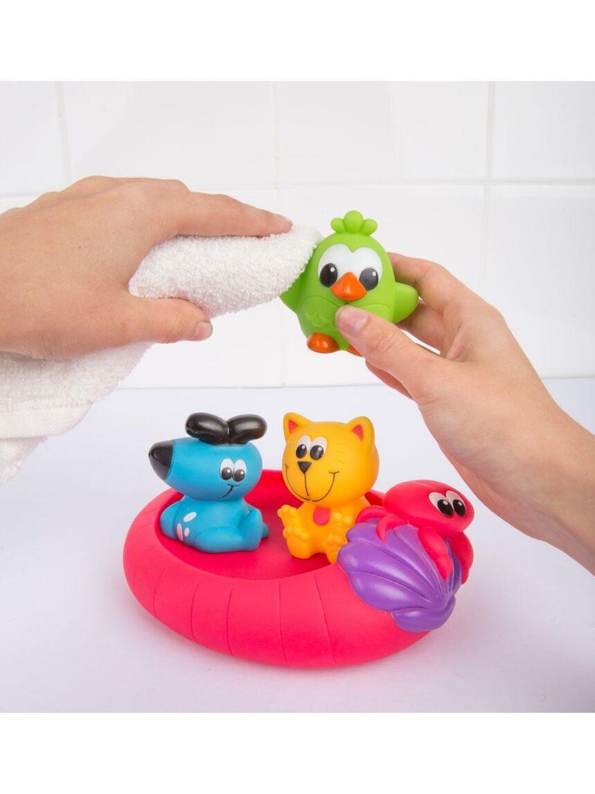 Playgro - amigos splash e float - totalmente selado - Playgro