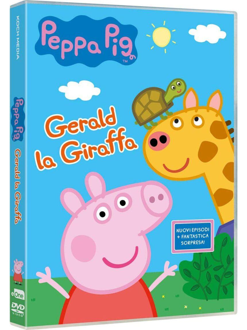 Dvd peppa pig - gerald a girafa - Video Delta