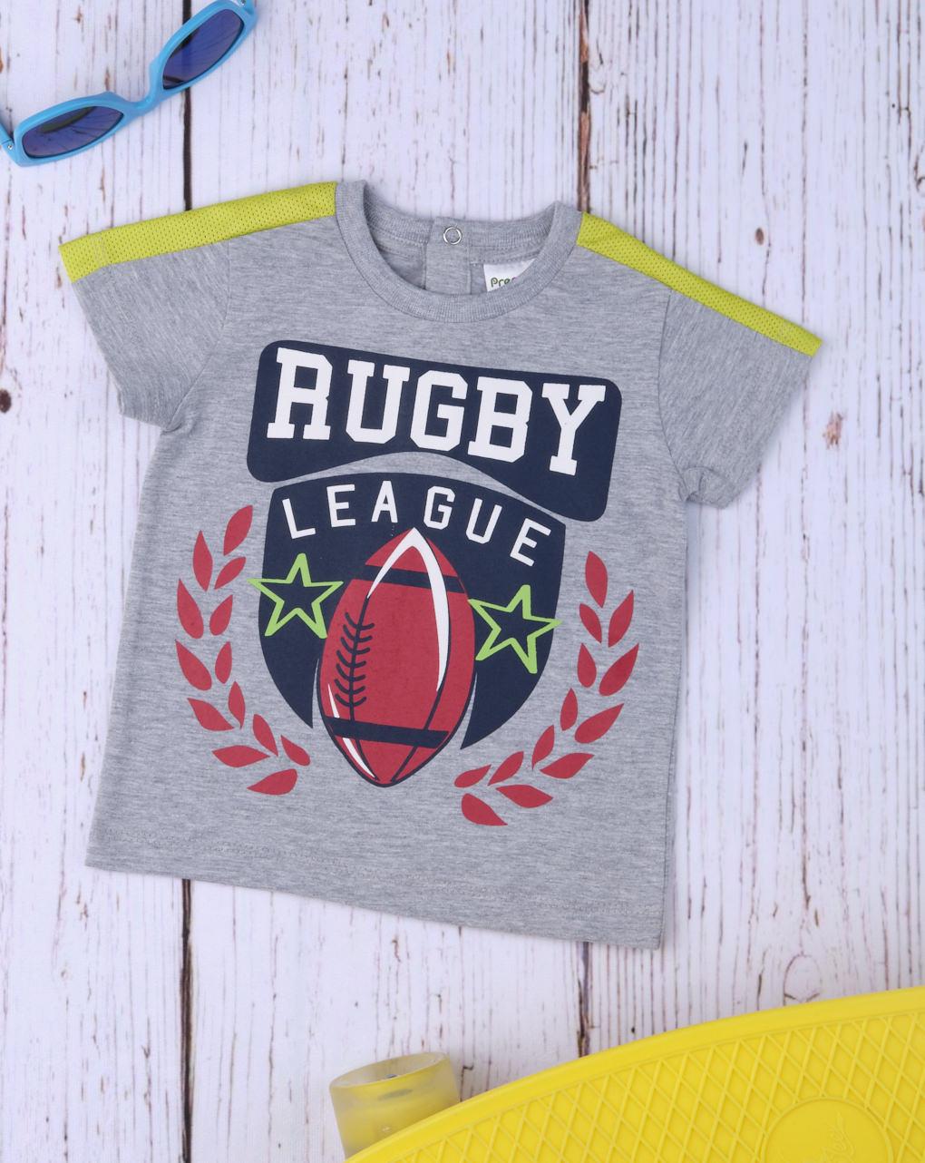 """Camiseta infantil """"liga de rugby"""" - Prénatal"""