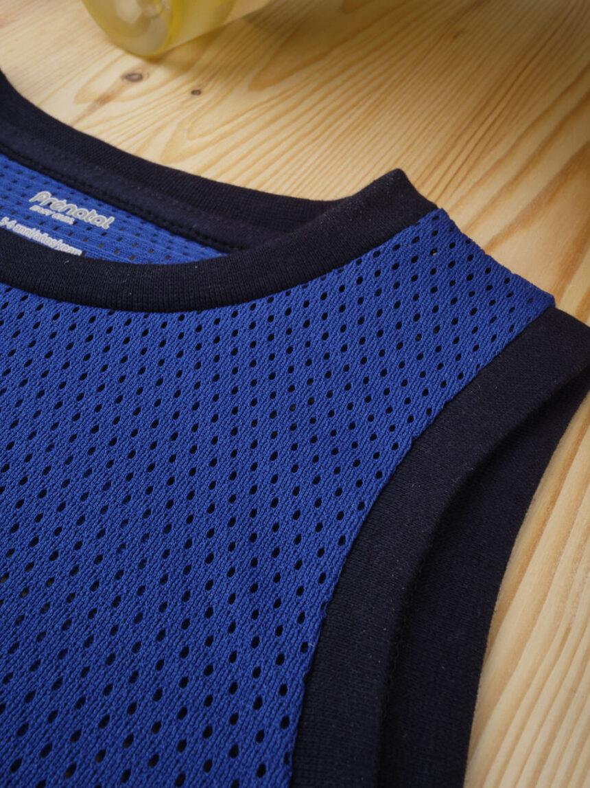 """Camiseta masculina """"basquete azul"""" - Prénatal"""
