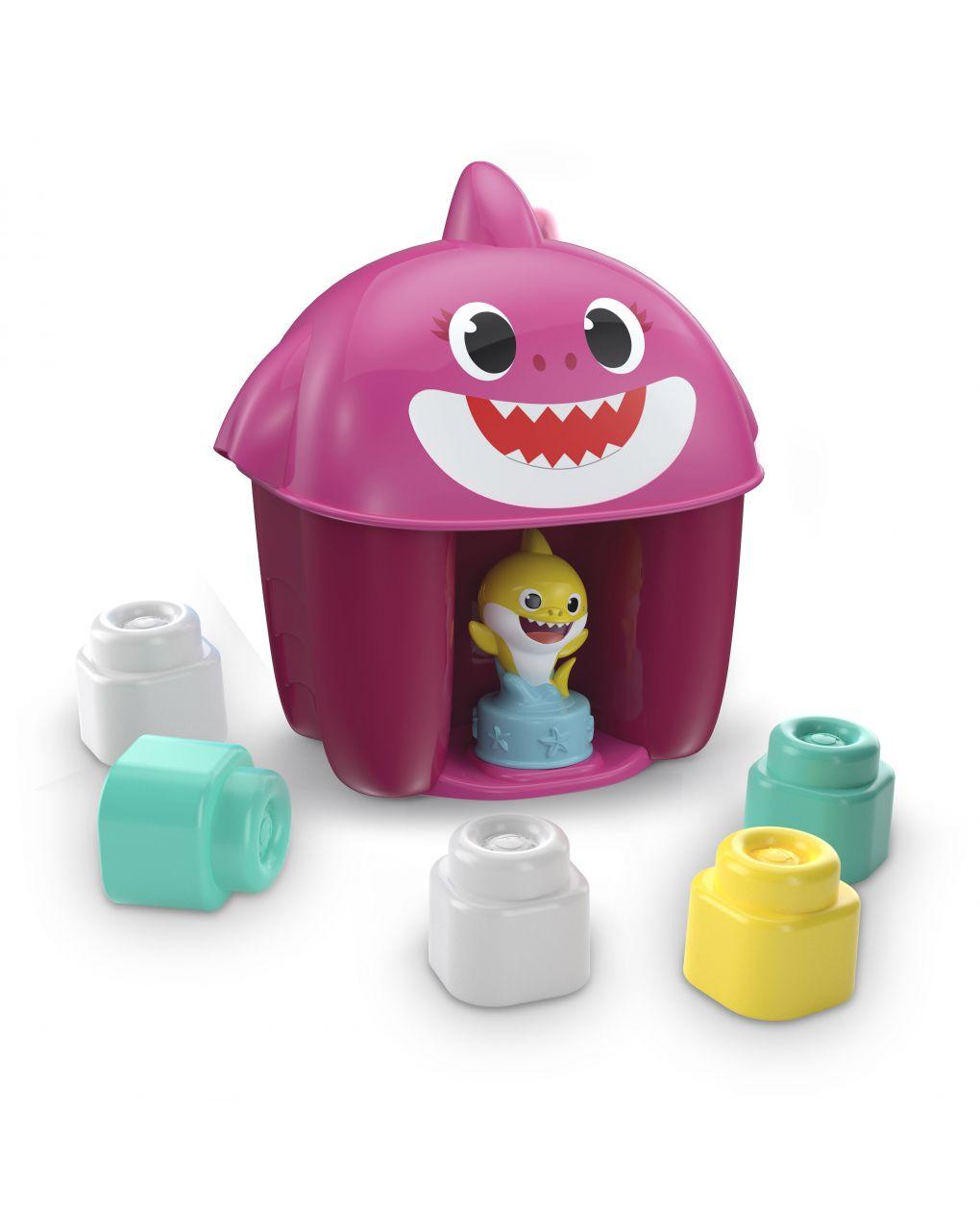Tubarão bebê - balde com caráter - Clementoni