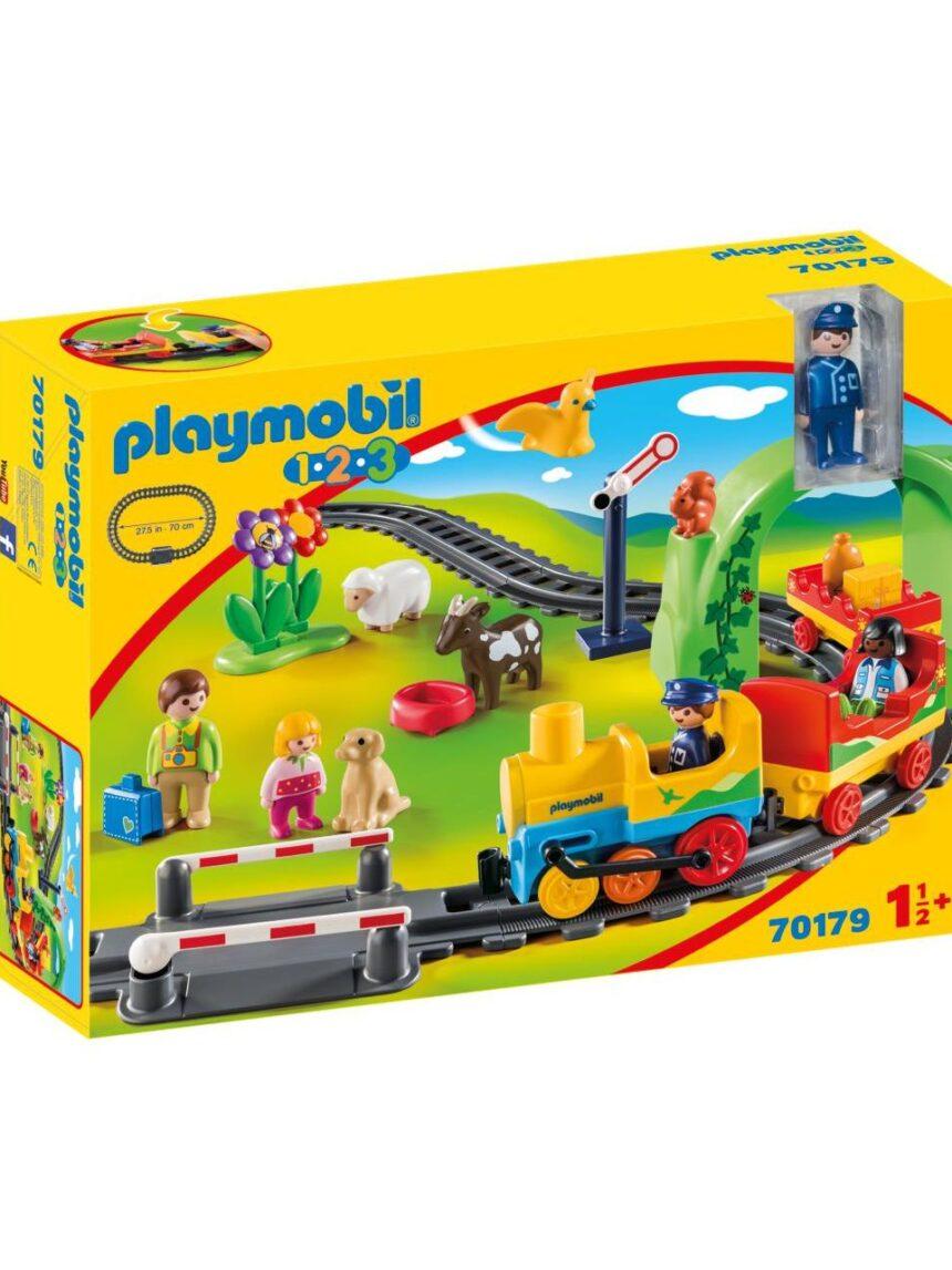 Playmobil - meu primeiro trem 1.2.3 - Playmobil