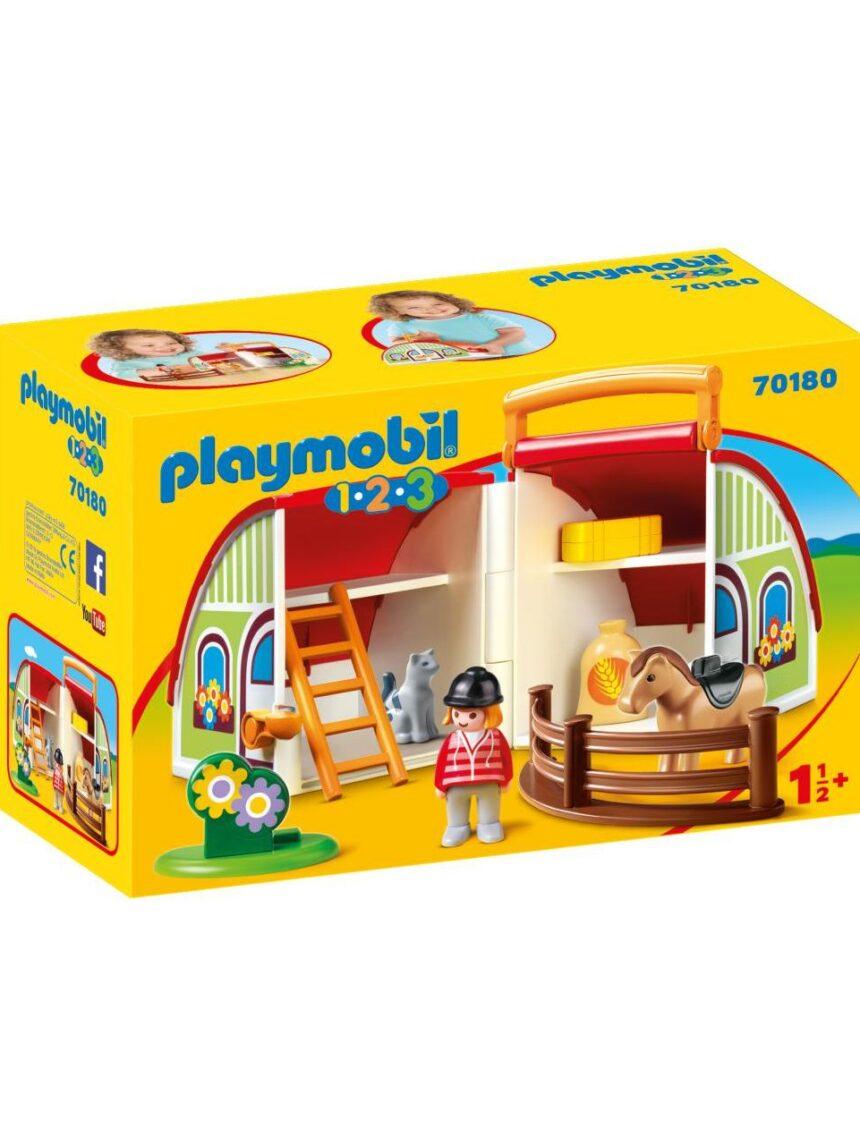 Playmobil - condução portátil 1.2.3 - Playmobil