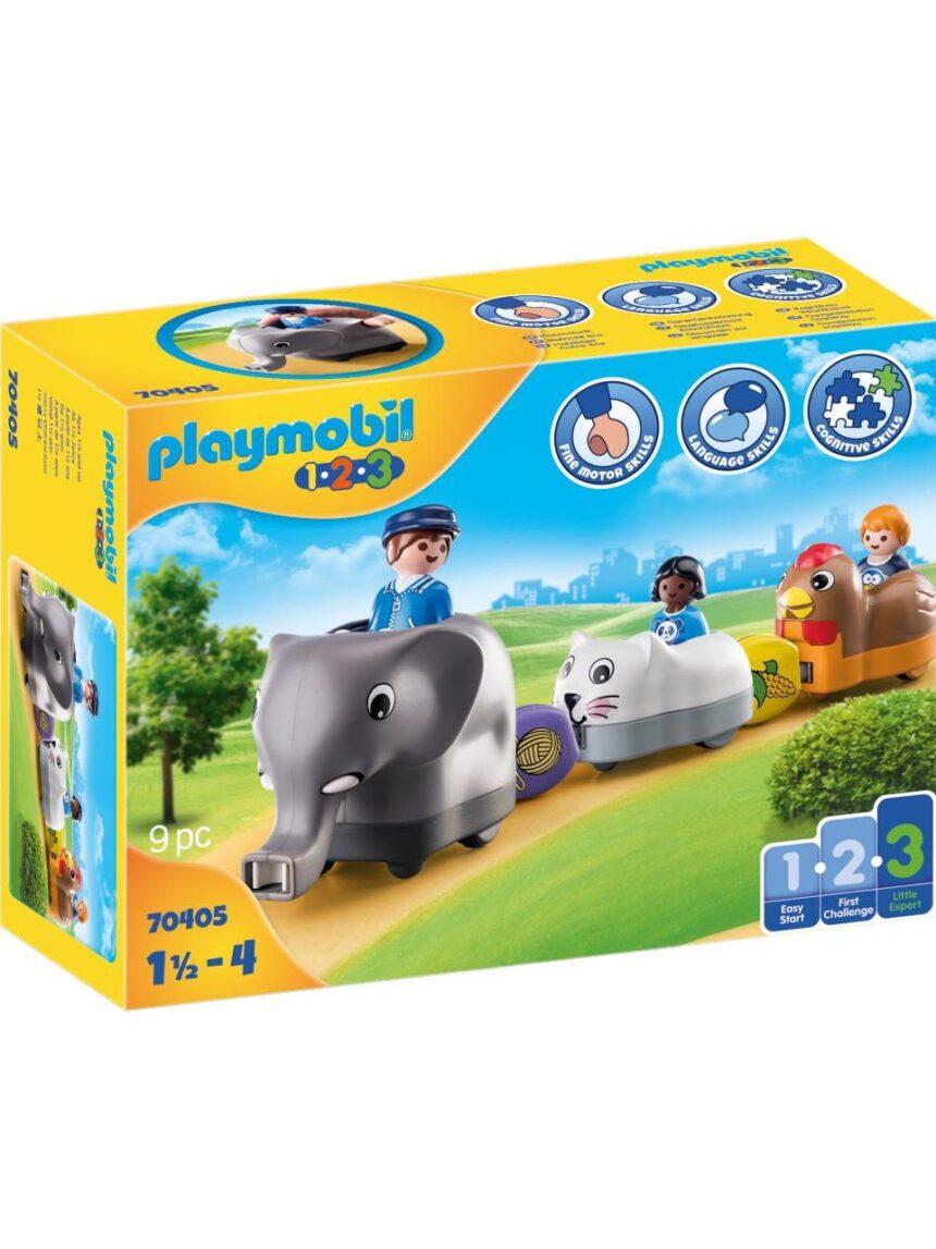 Playmobil - trem animal 1.2.3 - Playmobil