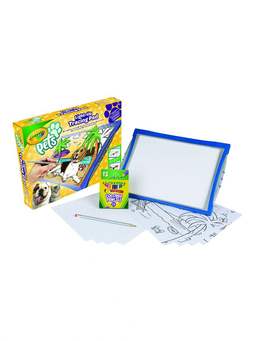 Crayola - placa de luz para animais de estimação - Crayola