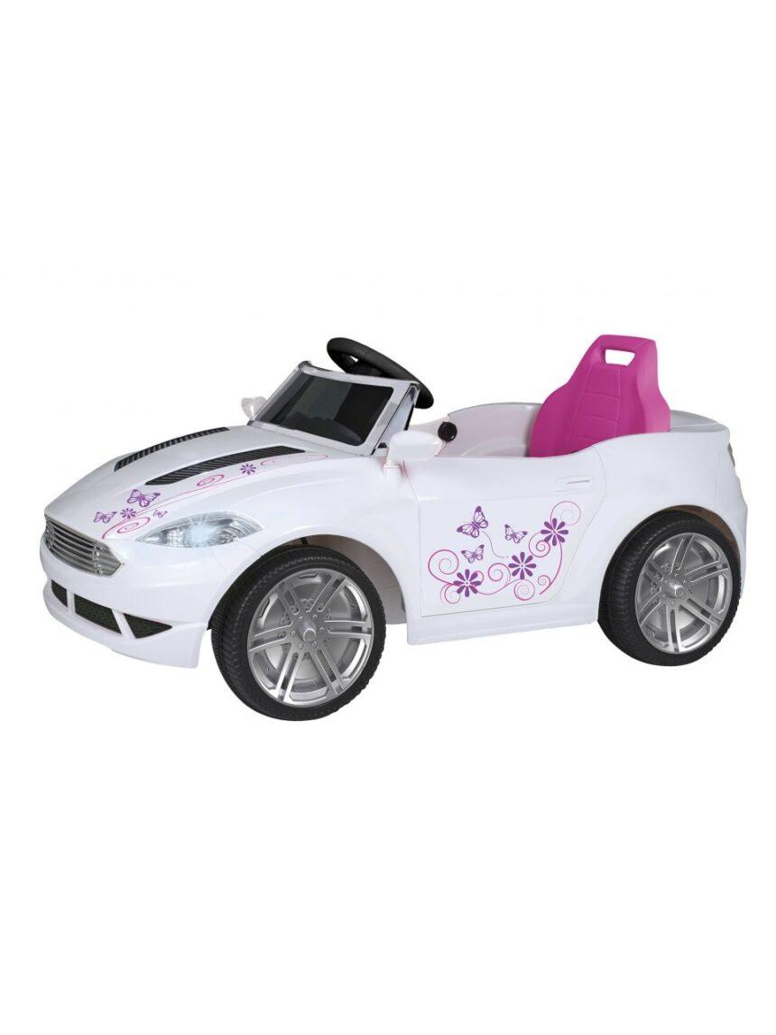 Sol e esporte - carro elétrico feminino 6v - Sun&Sport