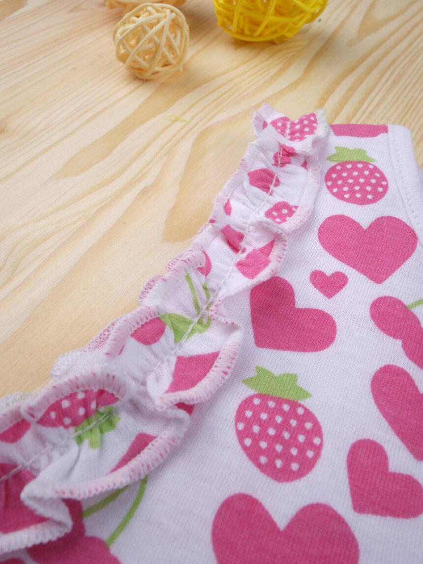 """Camiseta feminina """"hearts"""" - Prénatal"""
