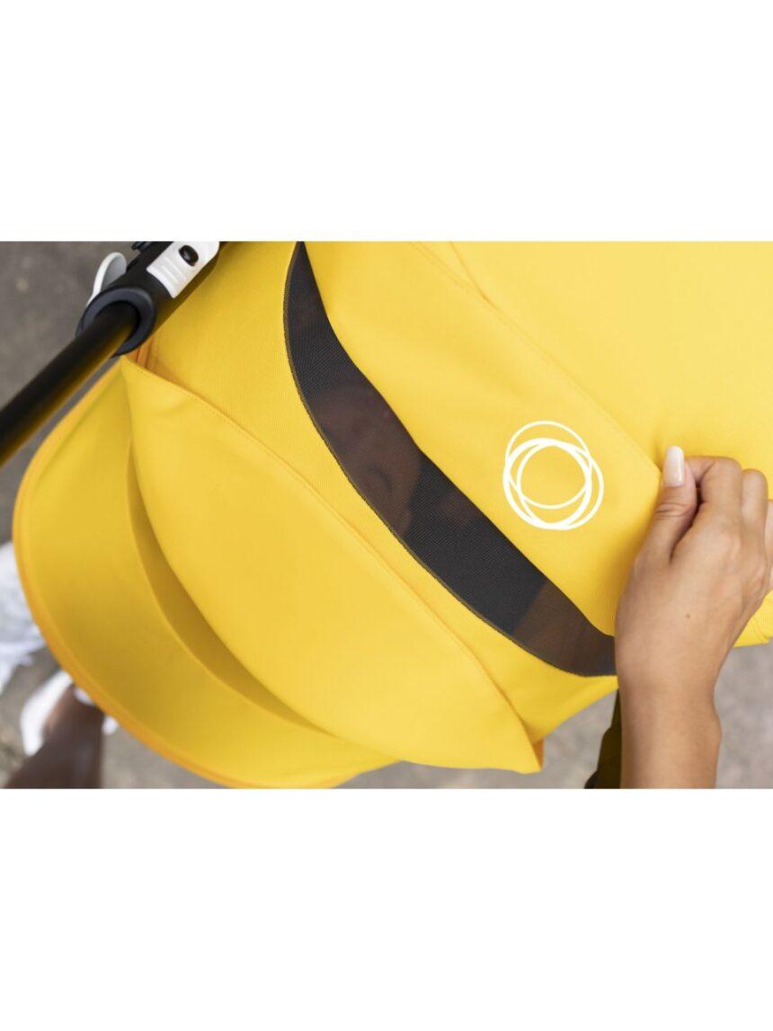 Bugaboo bee 6 completo preto / preto-limão amarelo - Bugaboo