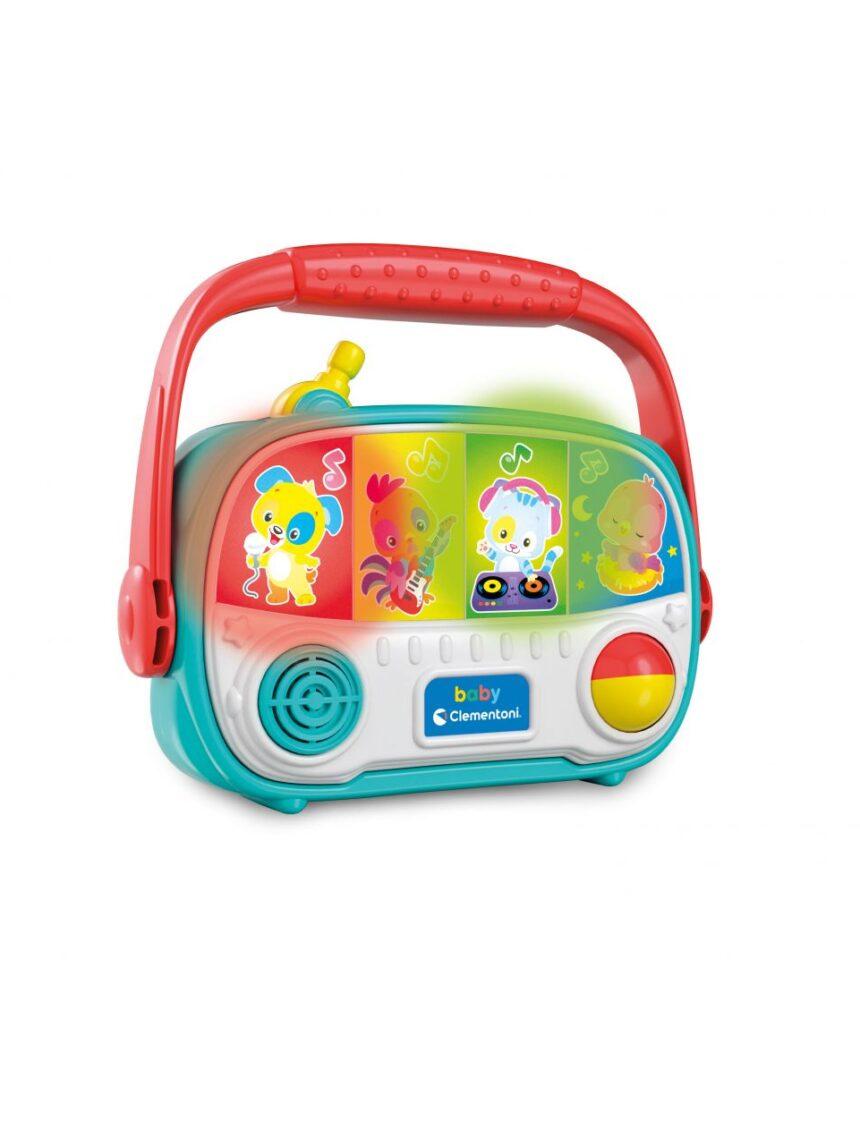 Babyclementoni - rádio para bebês - Baby Clementoni