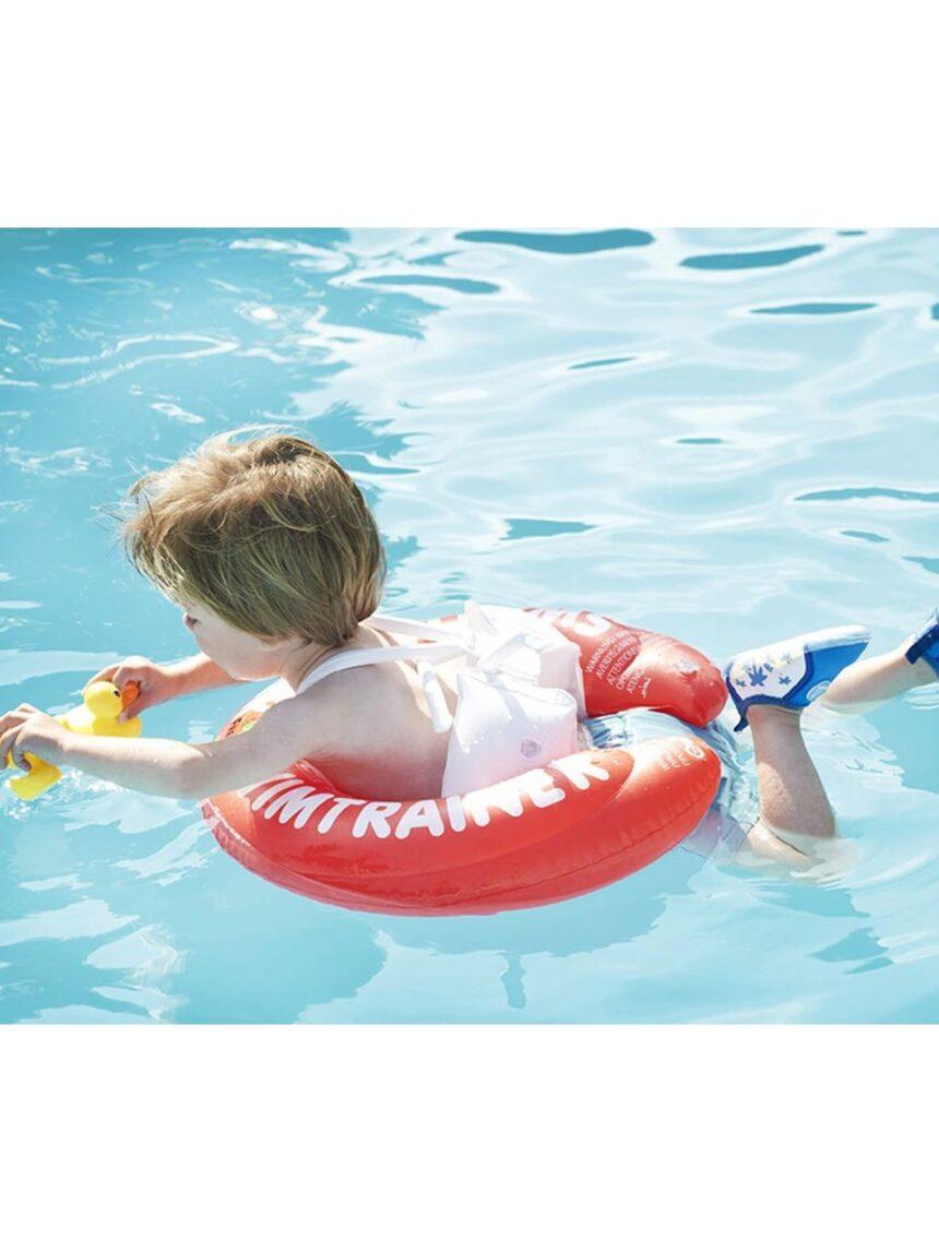 Boia salva-vidas com calça nadadora vermelha 6-18 kg - Fred Swim Academy