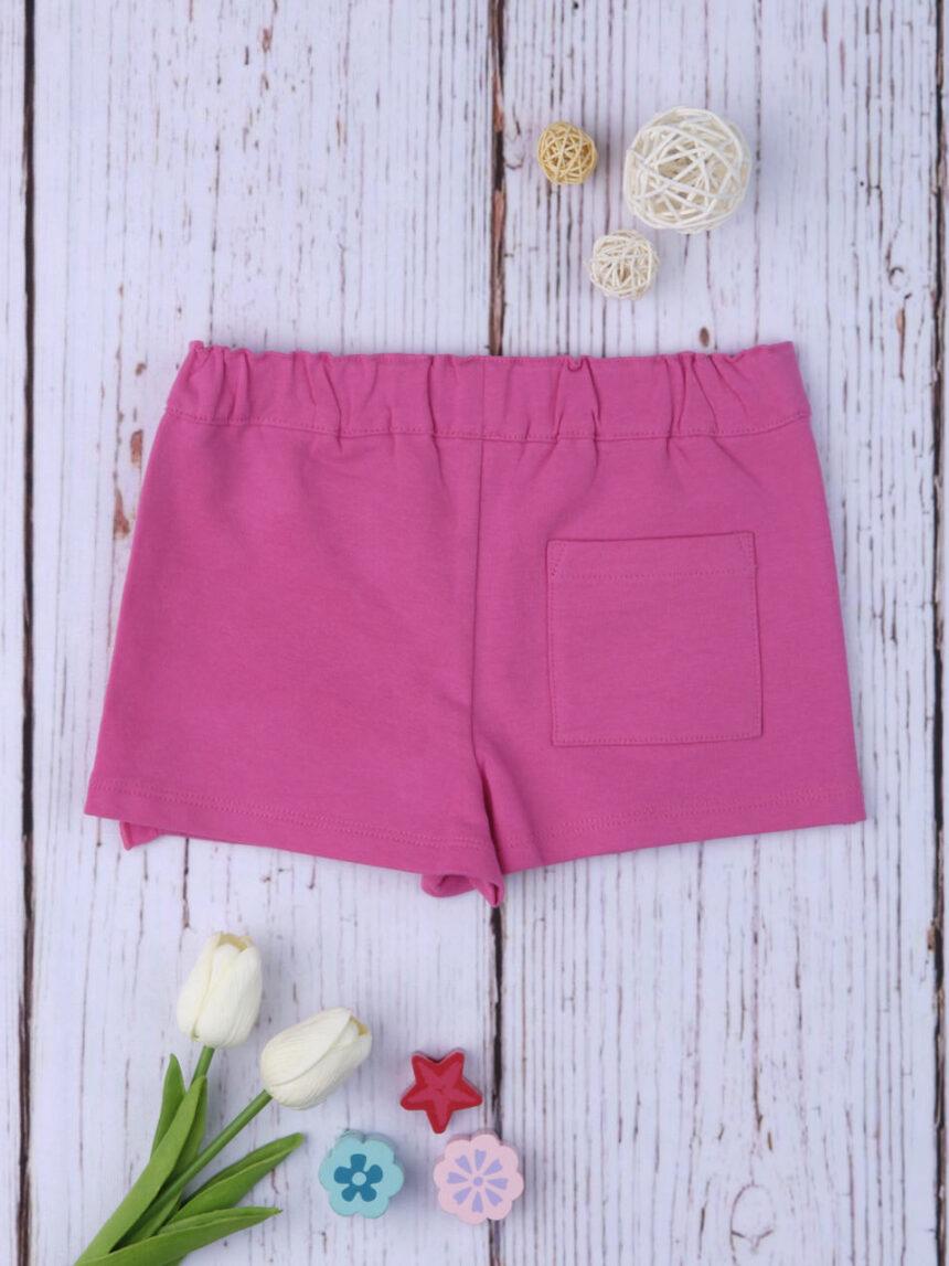 Shorts simil vão rosa - Prénatal