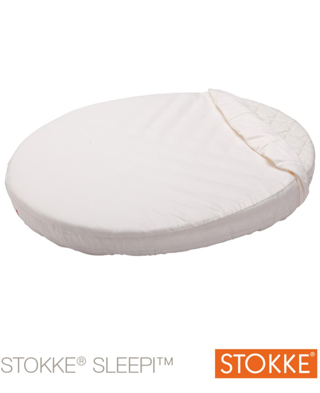 Lençol branco ajustável stokke® sleepi ™ baby - Stokke