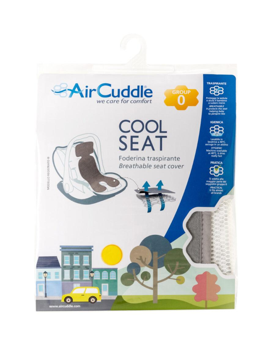 Capa de assento legal grupo 0 aircuddle cinza - AirCuddle