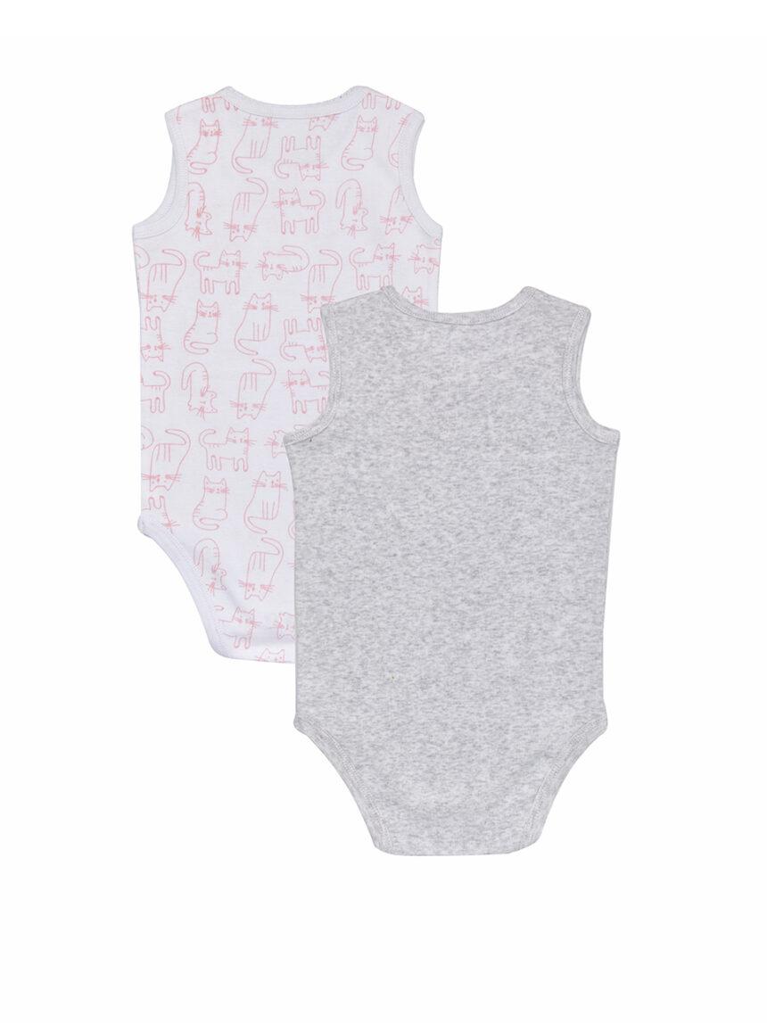 Pacote de body de 2 peças com estampa - Prénatal