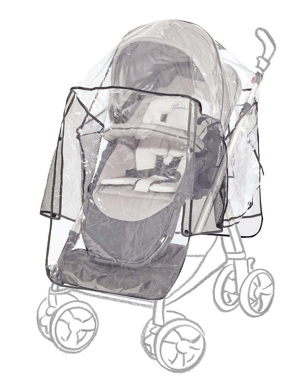 Capa de chuva universal para carrinho de criança de luxo - Giordani