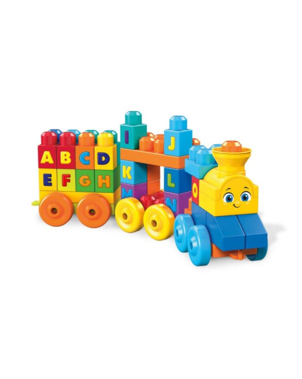 Mega bloks - o trem do alfabeto - Mega bloks