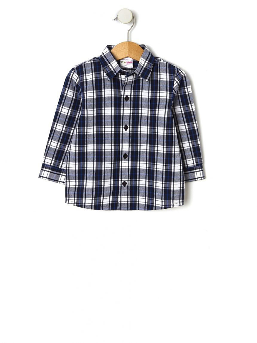 Camisa escocesa estampada - Prénatal