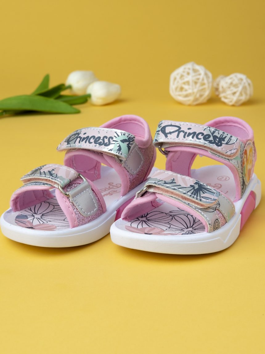 """Sandália de menina """"princesas"""" - Disney"""