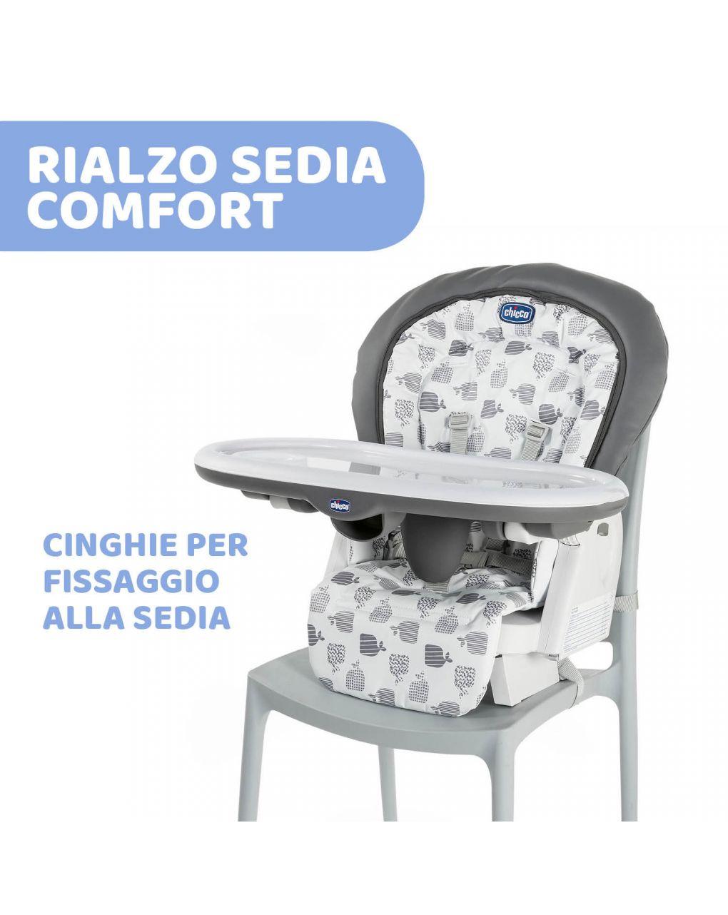 Cadeira alta cinza polly progres5 - Chicco