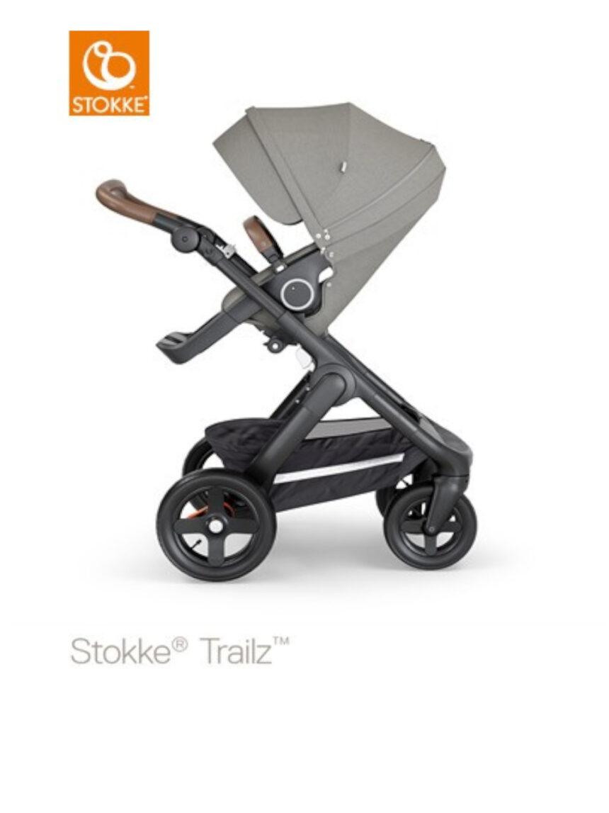 Stokke® trailz ™ - cinza escovado - Stokke