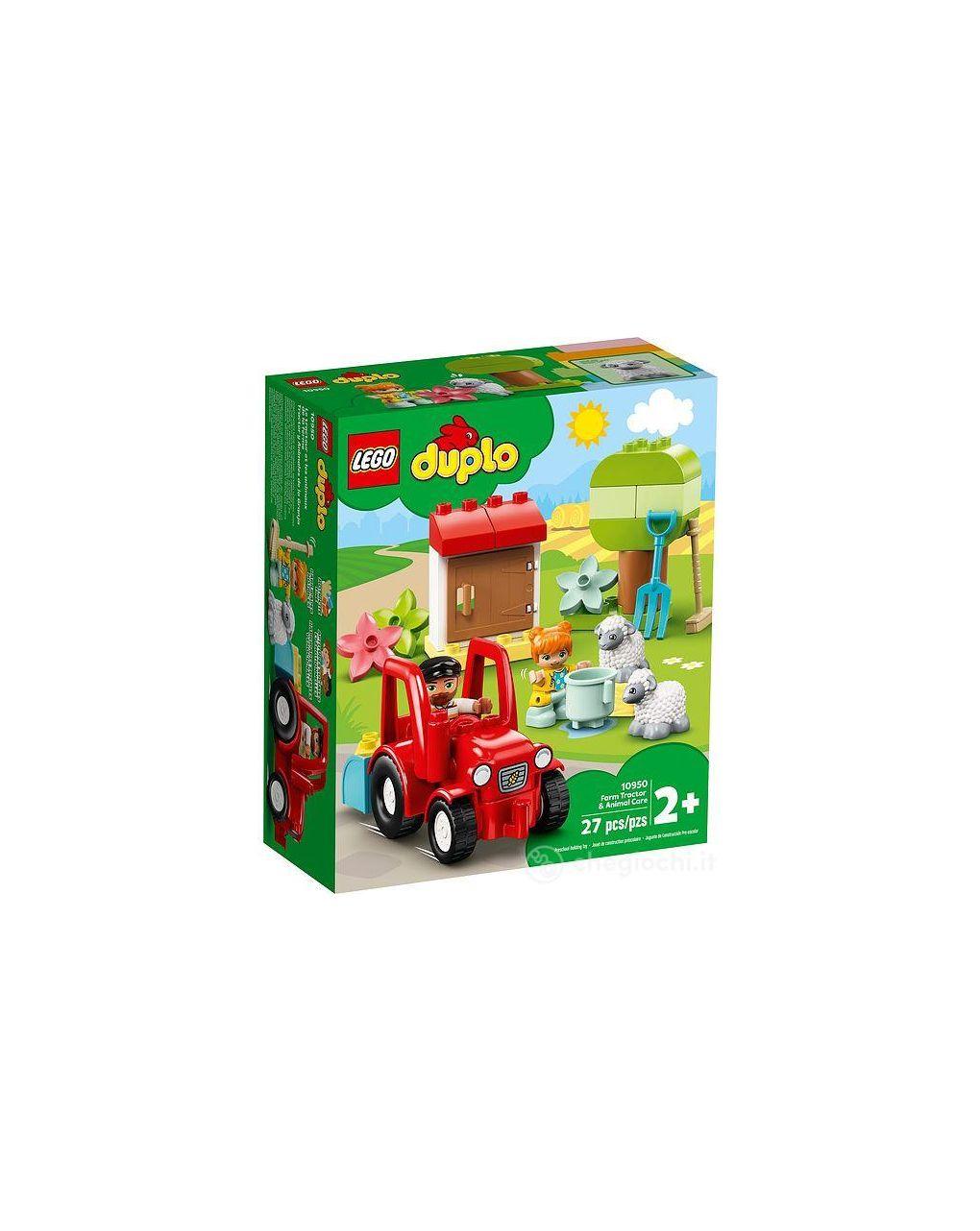 Lego duplo - o trator agrícola e seus animais - LEGO Duplo