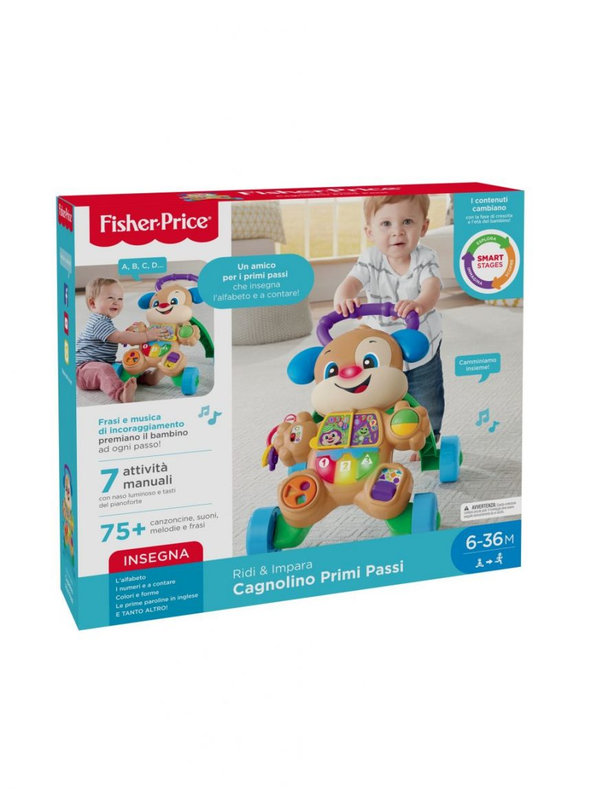 Fisher price - primeiros passos de cachorrinho - Fisher-Price