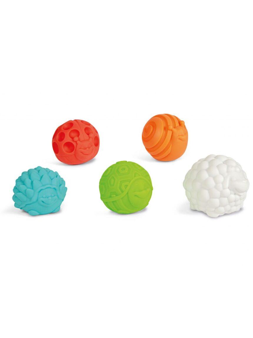 Bolas sensoriais babyclem - Baby Clementoni