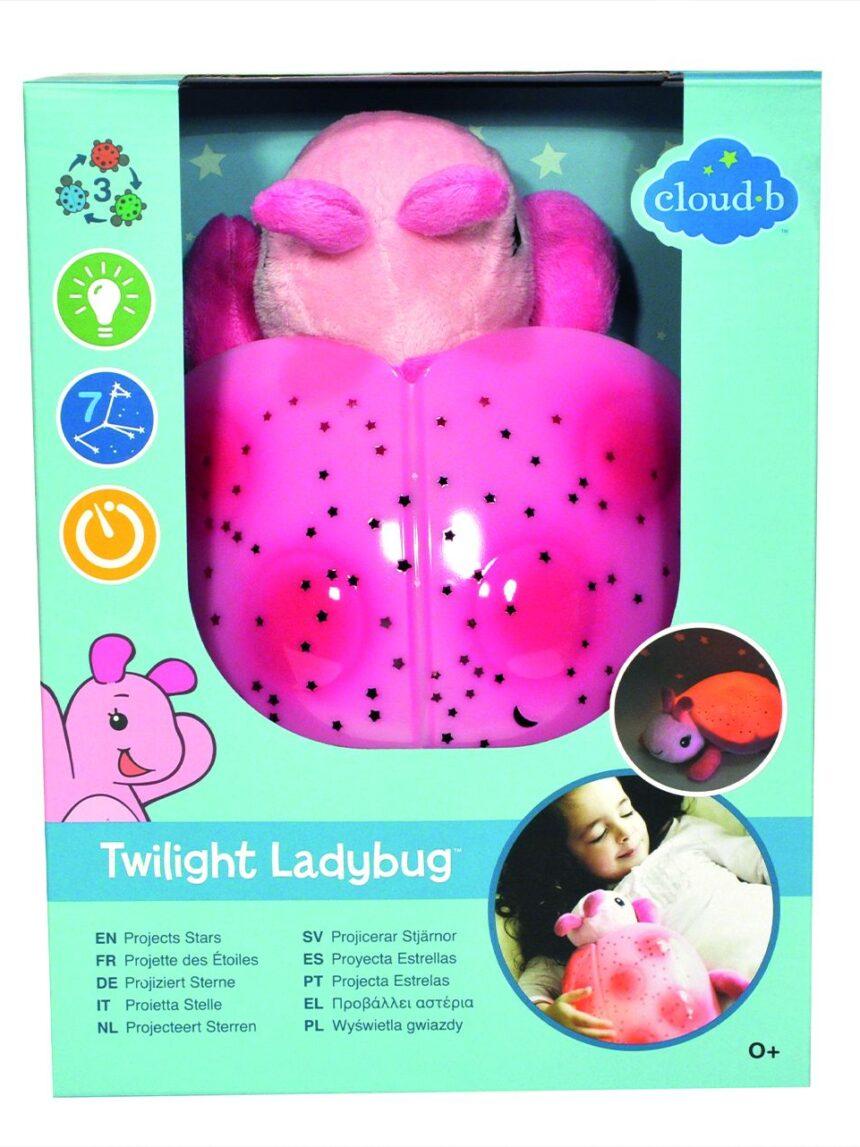 Nuvem b - joaninha crepuscular - rosa - Cloud B