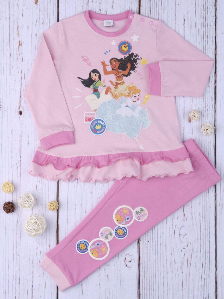 """Pijama de menina """"princesas"""" - Prénatal"""